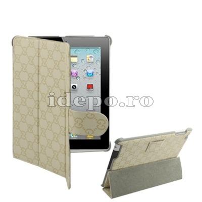 Husa iPad 2<br> Gucci Style <br> Functie hybernare