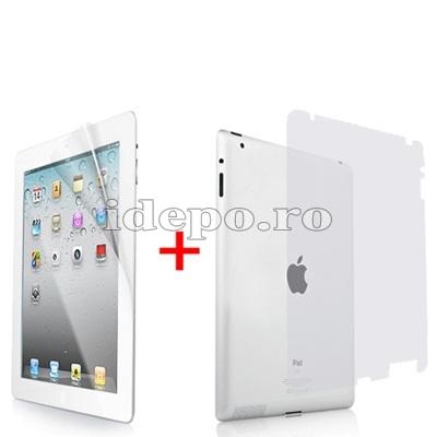 Folii fata/spate iPad 2<br> Sun Professional Japan