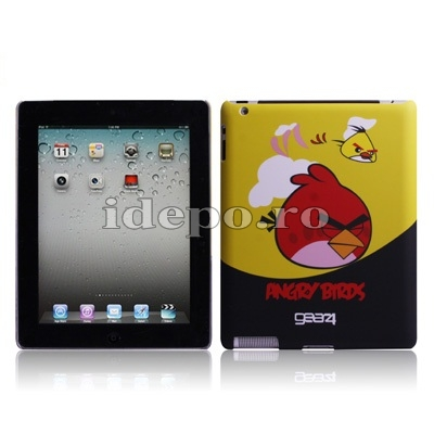 Husa iPad 2<br> Angry Birds Yellow<br> Accesorii iPad