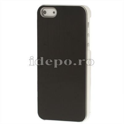 Husa iPhone 5S, 5 <br> Metal Cover  Black<br> Accesorii iPhone 5S, 5