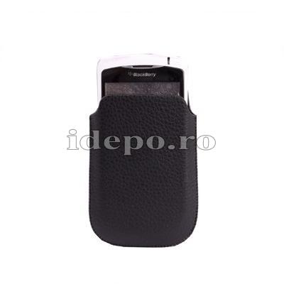 Husa BlackBerry 8520 <br>Sun Executive Piele<br> Accesorii BlackBerry