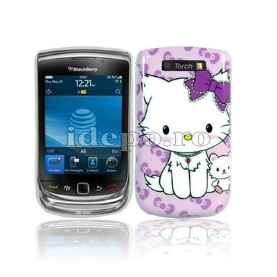 Husa BlackBerry 9800 <br> Hello Kity <br> Accesorii BlackBerry