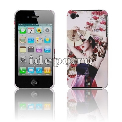 Husa iPhone 4S, 4 <br>  Mysteries  <br> Accesorii iPhone 4S