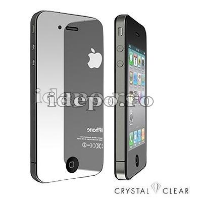 Folie protectie ecran iPhone 4S, 4 <br>Sun Mirror Professional