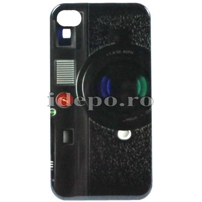 Husa iPhone 4,4S <br> Camera foto<br>Accesorii iPhone  4S