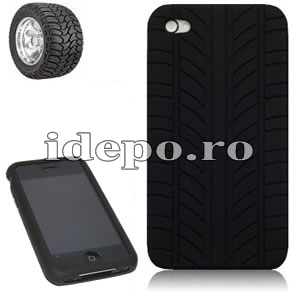 Husa iPhone 4S silicon <br> Dunlop <br> disponibila in multiple culori