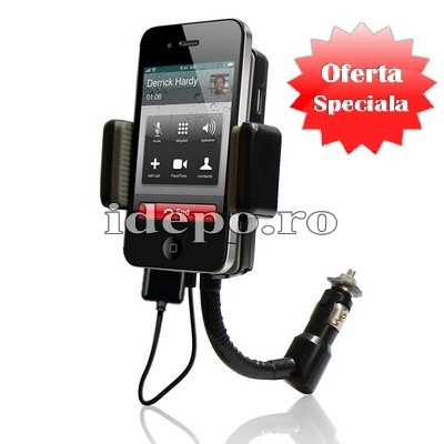 CAR KIT HANDS-FREE<br>MODULATOR FM<BR>IPHONE 3G/GS, IPOD