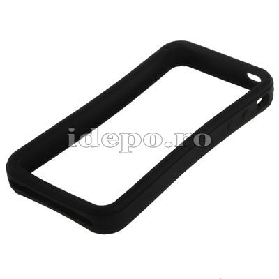 Bumper iPhone 4, 4S <br> Max Grip Black <br> Accesorii iPhone 4S