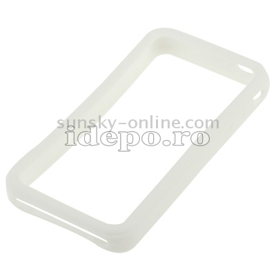 Bumper iPhone 4, 4S <br> Max Grip White<br> Accesorii iPhone 4S