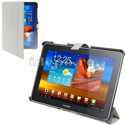 Husa Samsung Galaxy Tab 10.1 <br> TAB 2 (P5100), TAB 10 (P7510) <BR> Smart Cover - Grey