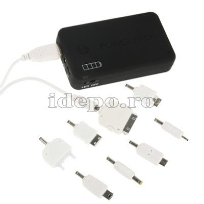 Baterie iPhone, iPad, Samsung, BlackBerry, Motorola 4.800mAh