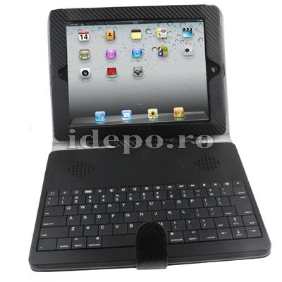 Tastaura iPad  cu husa<br> Accesorii iPad 2