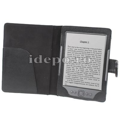 Husa Amazon Kindle 4  <br> Sun Elegance Piele<br>Accesorii Amazon Kindle